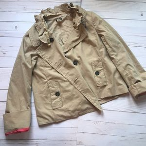 J. Crew Tan Spring Coat